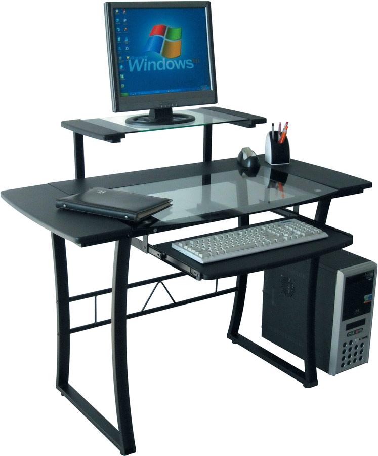 Компьютерный стол Tetchair Studio WRX-05 (AA-2008-5) Стекло прозрачное