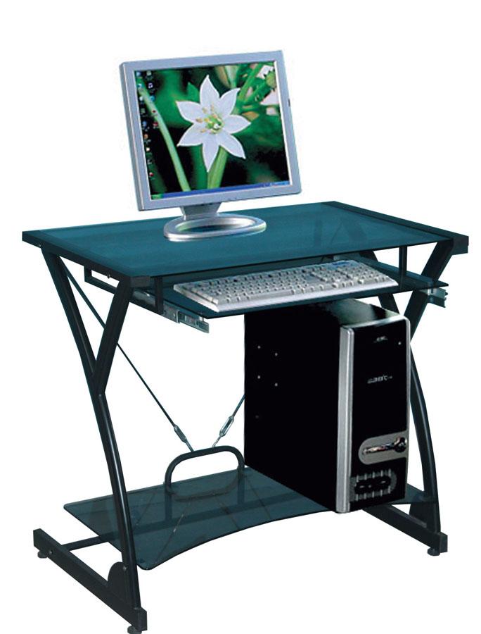 Компьютерный стол Tetchair Dark Wader WRX-01 (AA-607B-1) Стекло тонированное