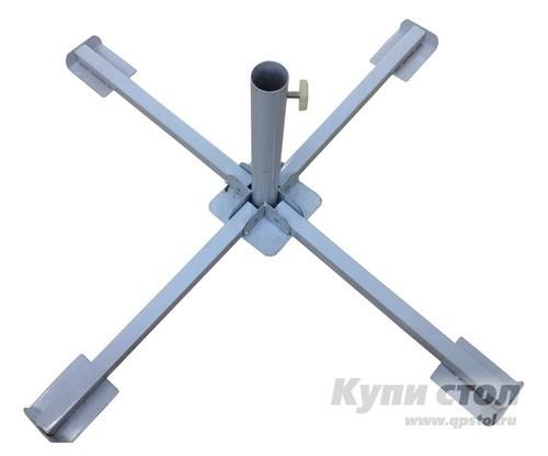 Основание для зонта Афина-мебель SH-1 Серебристый металлик