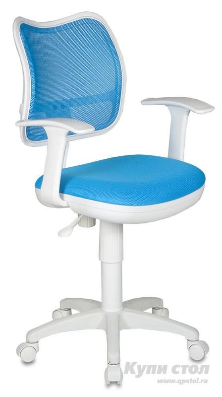 Компьютерное кресло Бюрократ CH-W797 TW-55 Светло голубой