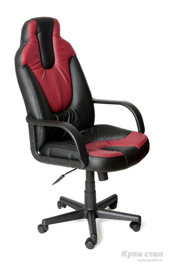 Компьютерное кресло Tetchair NEO (1) Иск. кожа черная / бордо