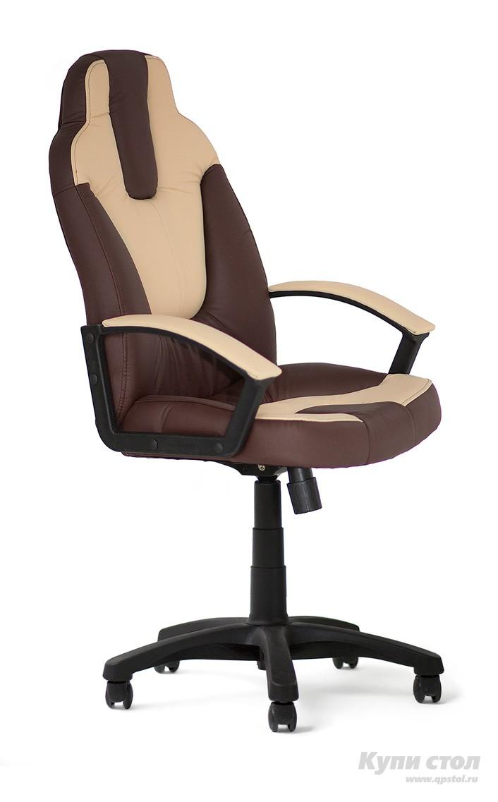 Компьютерное кресло Tetchair NEO (2) Иск. кожа коричневый / бежевый