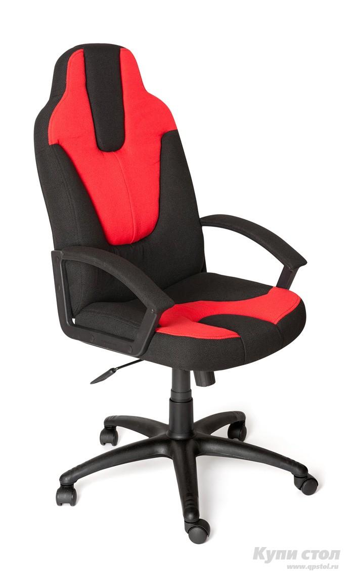 Компьютерное кресло Tetchair NEO (3) Ткань черная/красная
