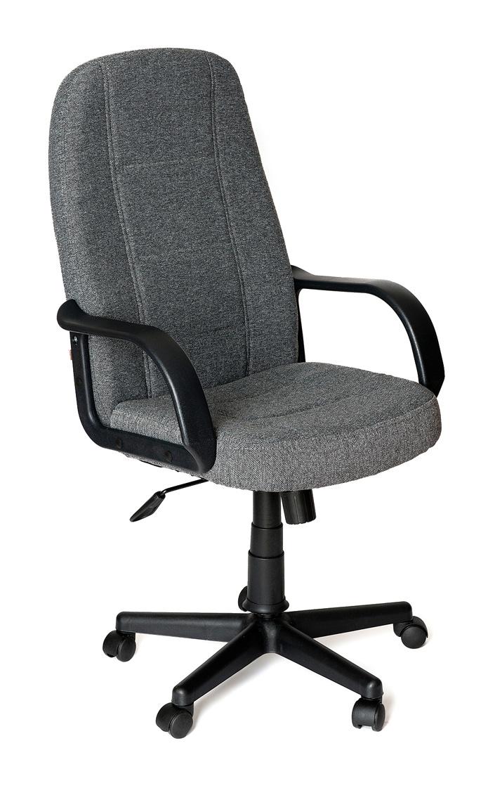 Кресло руководителя Tetchair СН747 Ткань серая 207