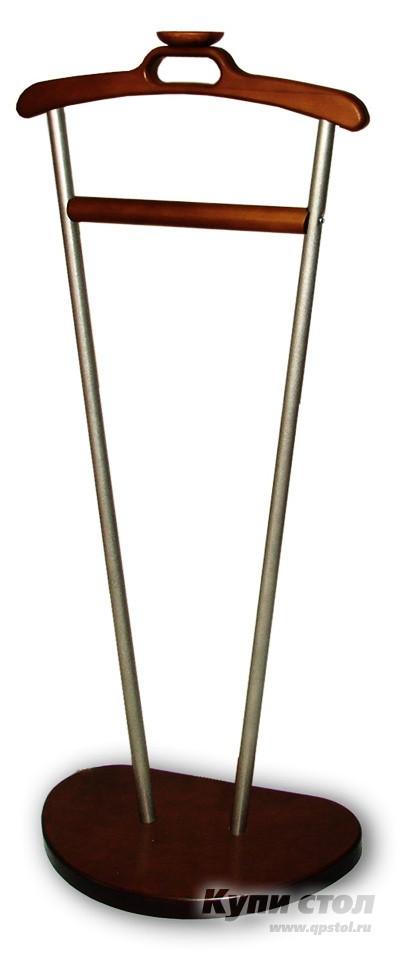 Костюмная вешалка Мебелик Д-9 Металлик/Темно-коричневый