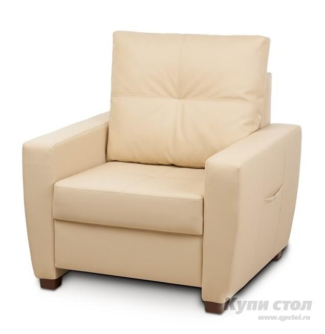 Кресло Вентал Кресло Амстердам Бежевый Oregon 12 (кожзам)
