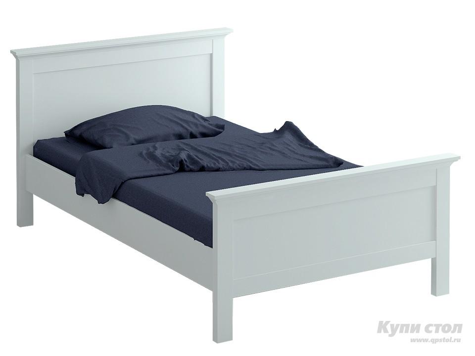Кровать ОГОГО Обстановочка! reinawh-k900-1200 Белый