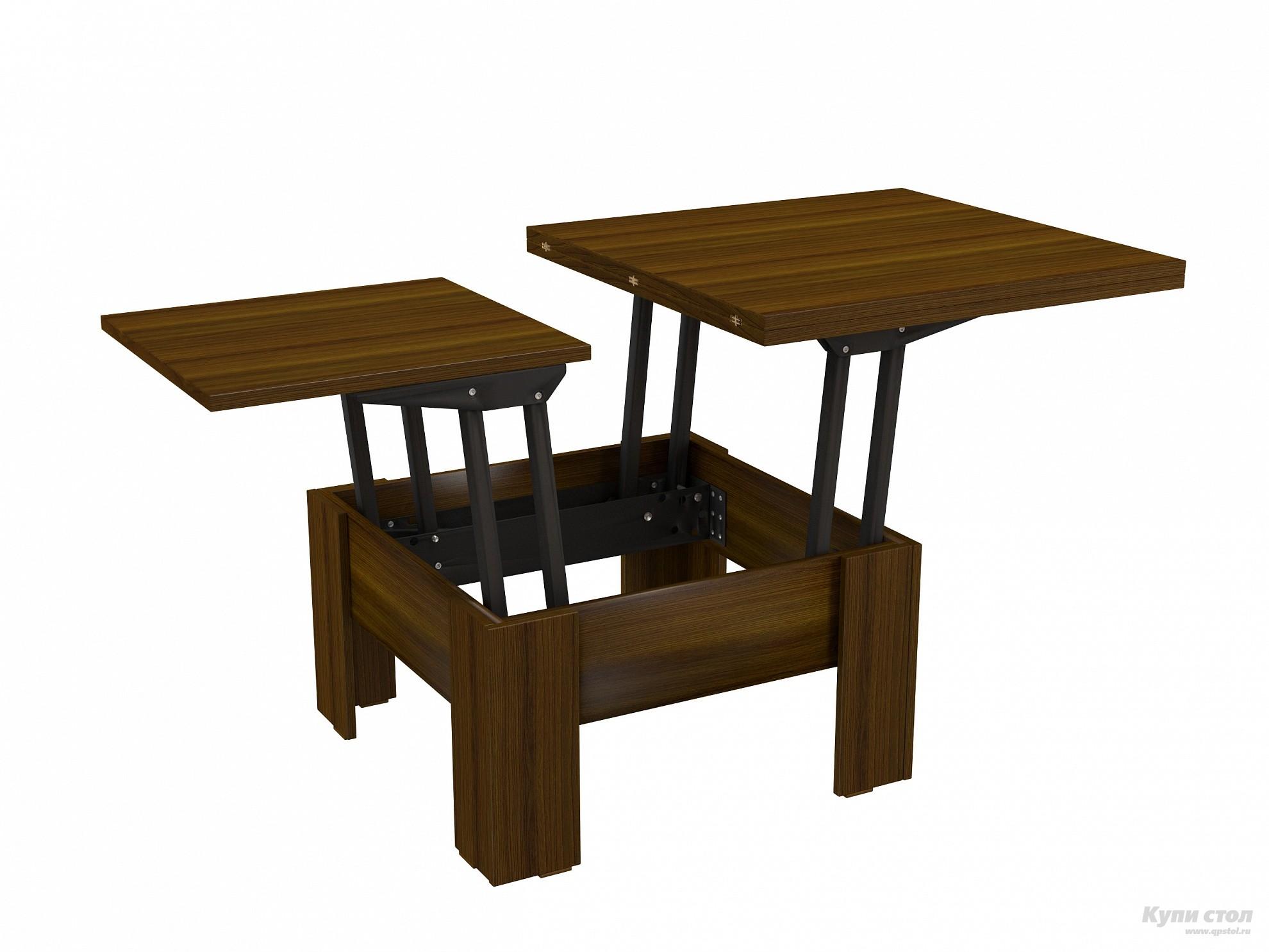 Журнальный столик ВасКо СТ 80-06 Орех Валенсия