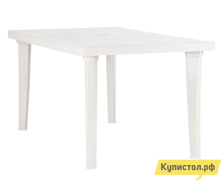 Пластиковый стол ЭЛП Стол прямоугольный Белый