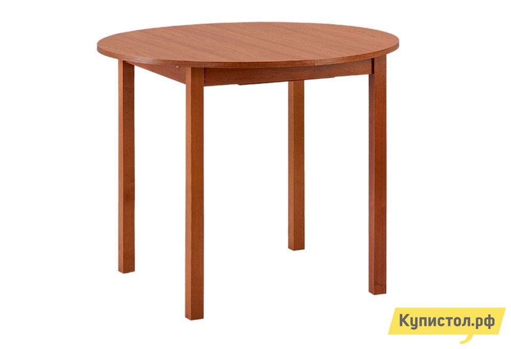 Кухонный стол Боровичи Стол обеденный раздвижной с круглой крышкой Вишня