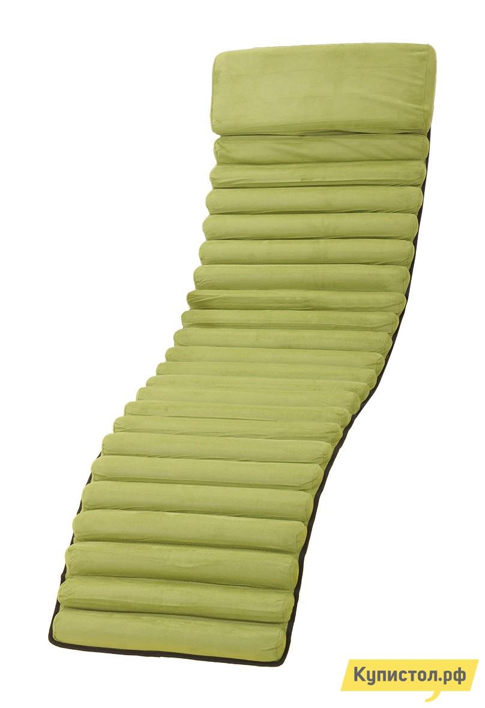 Матрас для шезлонга ОГОГО Обстановочка! Mat1-green Зеленый текстилен