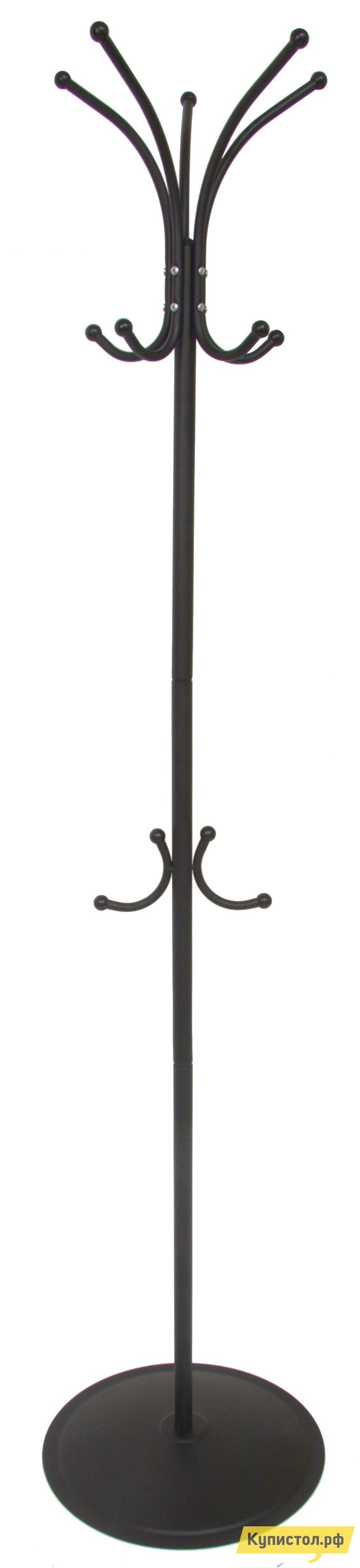 Напольная вешалка Мебелик Пико 4 Черный