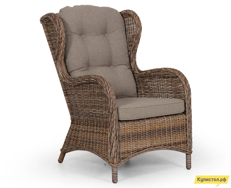 Плетеное кресло Brafab Evita 5641-62 Ротанг коричневый