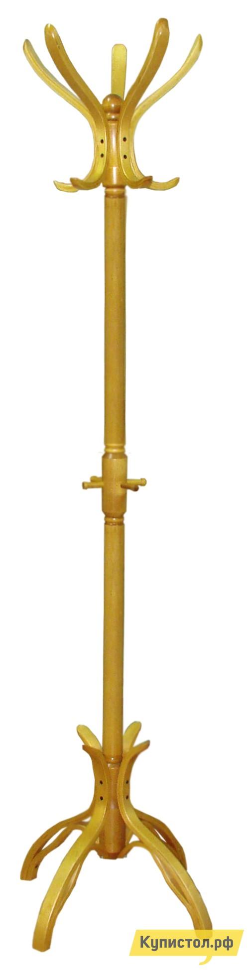 Напольная вешалка Мебелик В 12Н Светло-коричневый