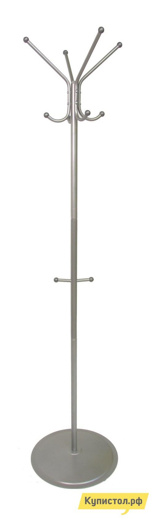 Напольная вешалка Мебелик Пико 1 Металлик