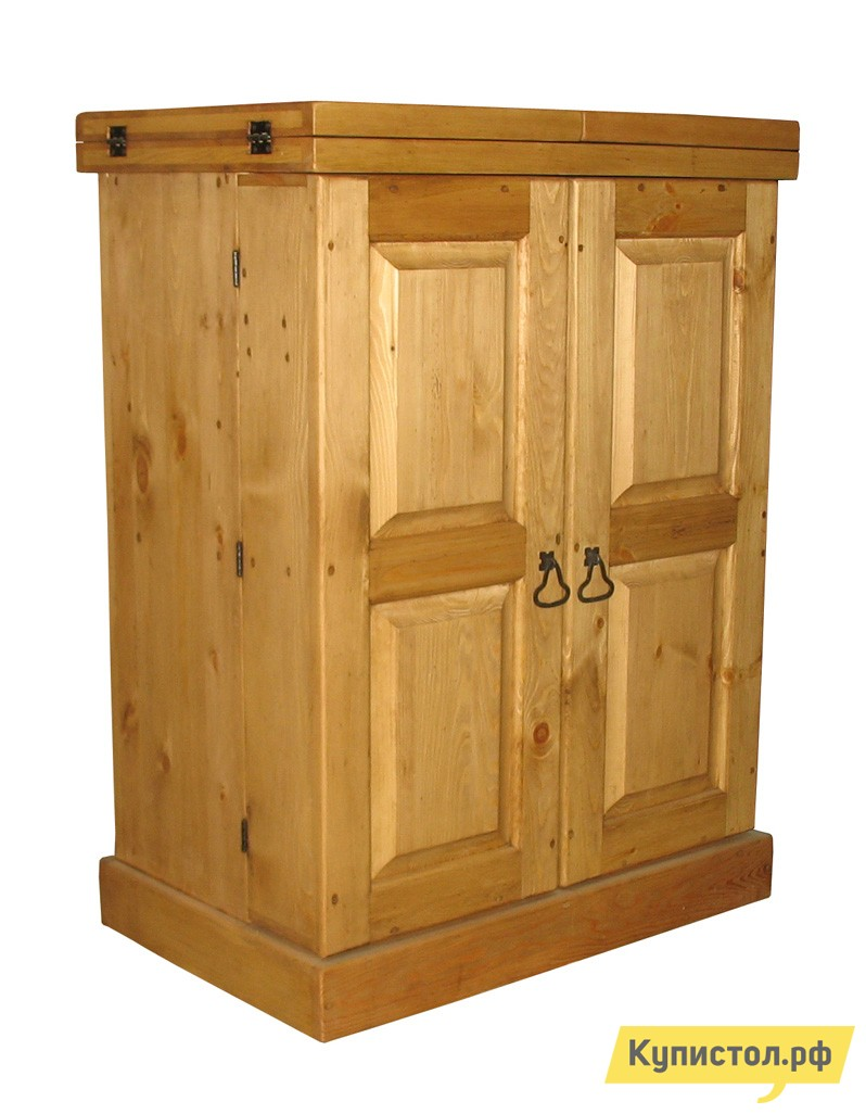 Барный шкаф Волшебная сосна BAR OUVRANT (BAROUV) Массив сосны