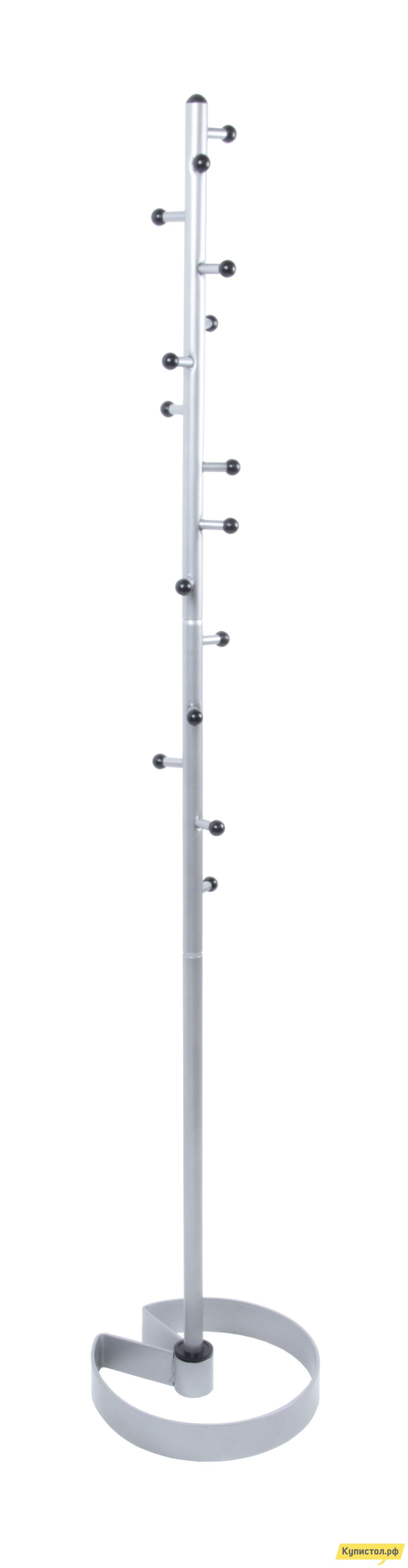 Напольная вешалка Мебелик Пико 15 Металлик