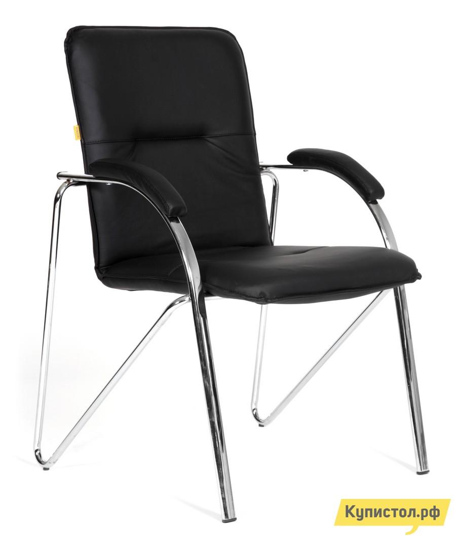 Офисный стул Chairman CH 850 Terra-118 (эко-кожа черная)