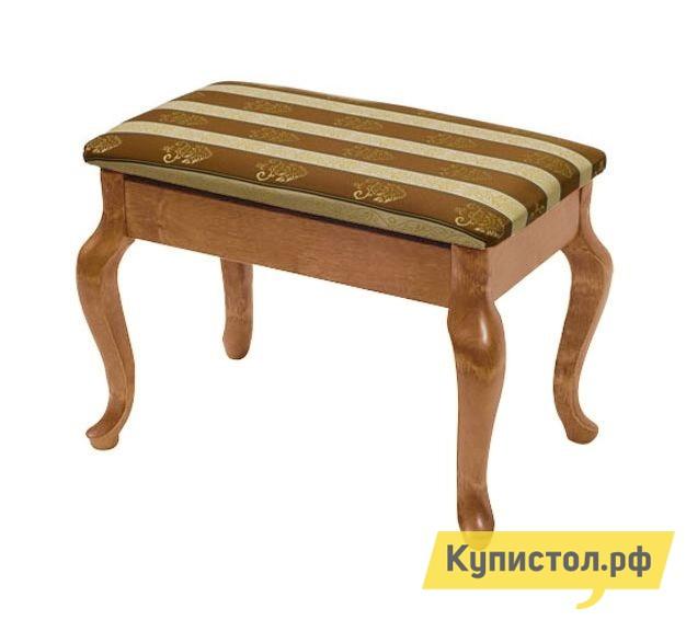 Банкетка Мебелик Банкетка Ретро Средне-коричневый / ткань