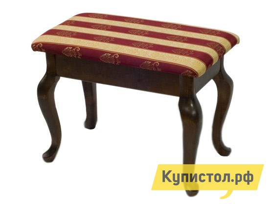 Банкетка Мебелик Банкетка Ретро Темно-коричневый / ткань