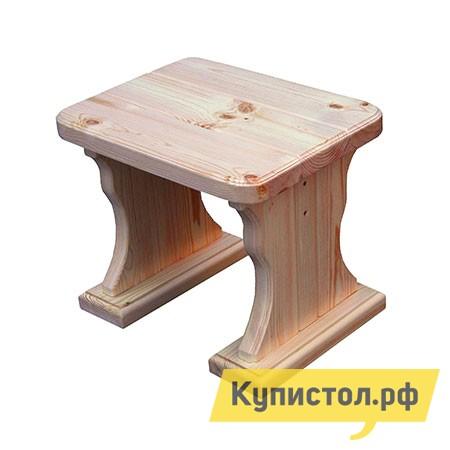 Садовое кресло МФДМ Московия (лак) Табурет деревянный Массив сосны (лак)