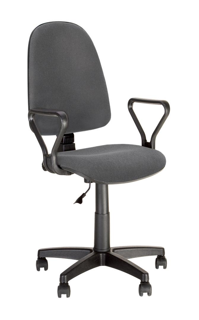 Офисное кресло NOWYSTYL PRESTIGE GTP Темно-серая С-38 ткань