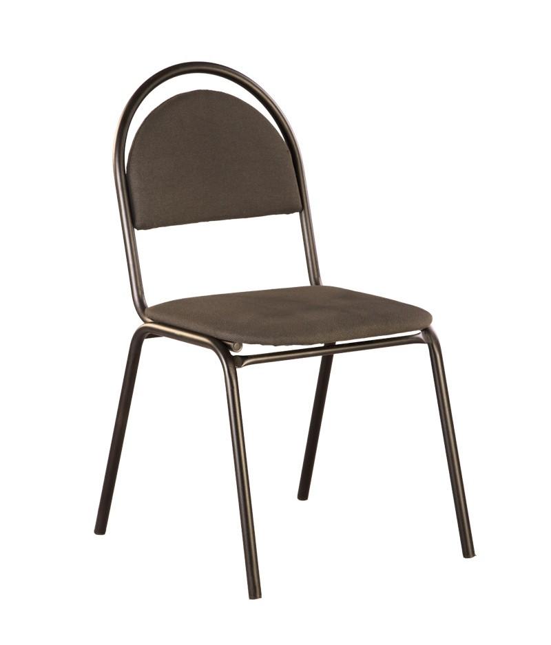 Офисный стул NOWYSTYL SEVEN BLACK RU Темно-серая С-38 ткань