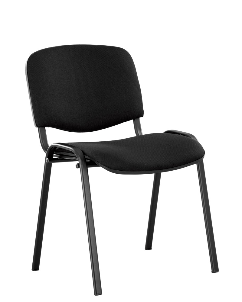 Офисный стул NOWYSTYL ISO-24 BLACK RU Черная С-11 ткань