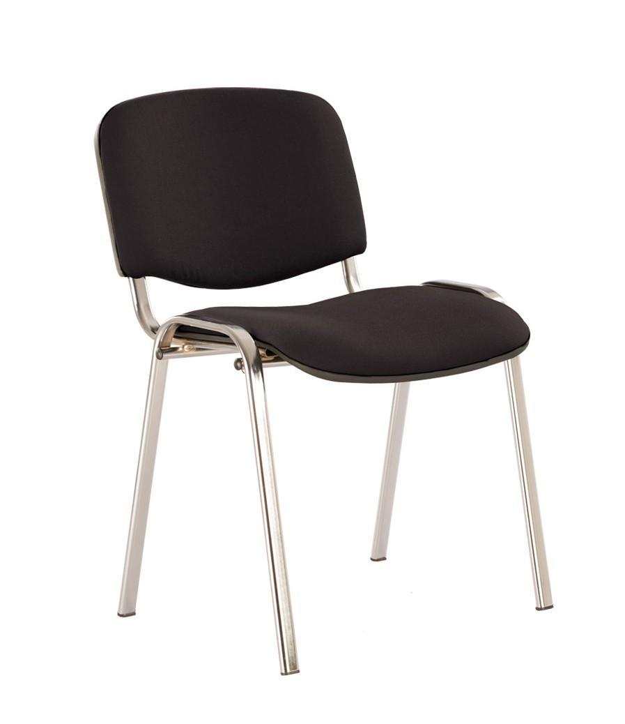 Офисный стул NOWYSTYL ISO-24 CHROME RU Черная С-11 ткань