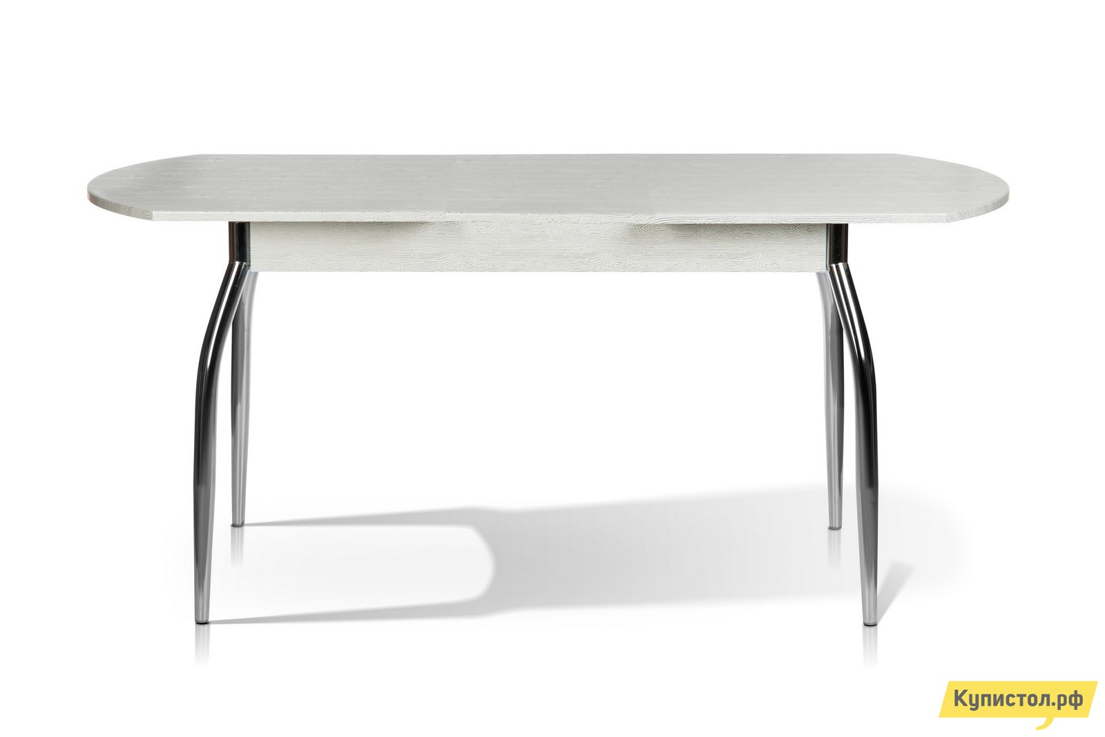 Кухонный стол МегаЭлатон Сиена Мини Дуб белый патина