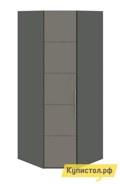 Шкаф распашной ТриЯ СМ-208.07.06 Фон серый / Джут