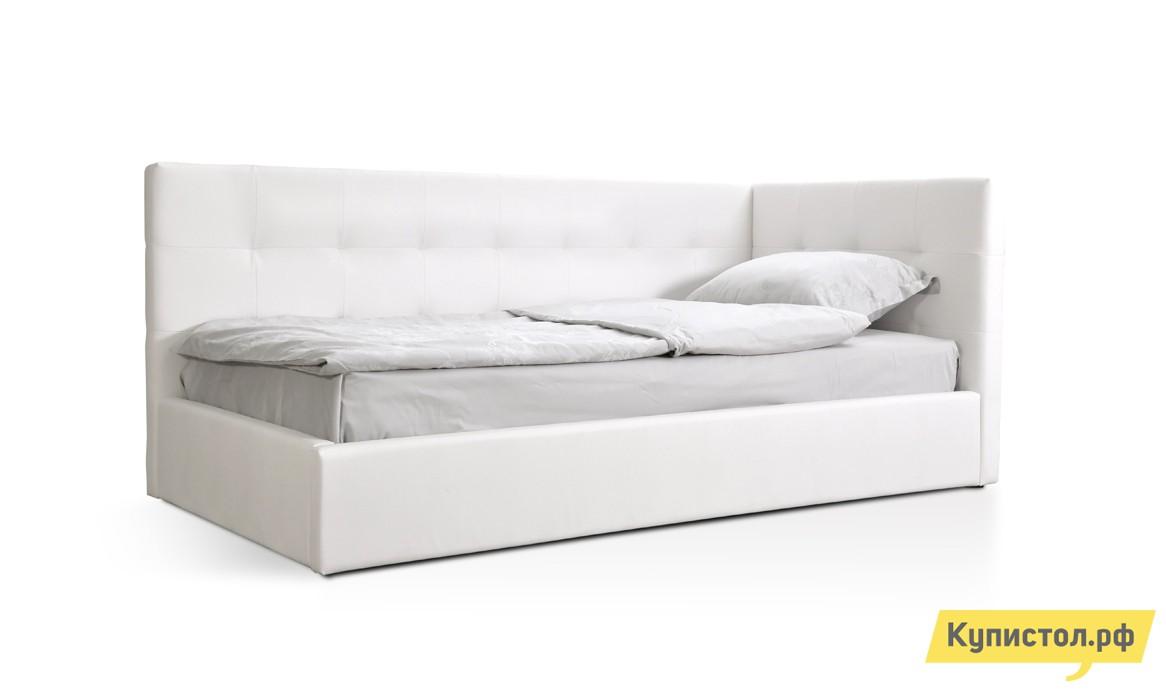 Кровать Мирлачев Валерия 900*1900 с ПМ Эко стайл 01