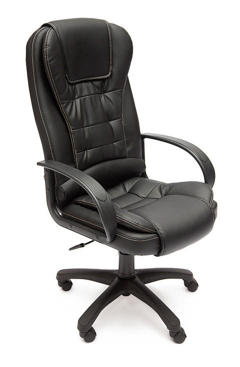 Кресло руководителя Tetchair Baron ST Иск. кожа черная PU C36-6