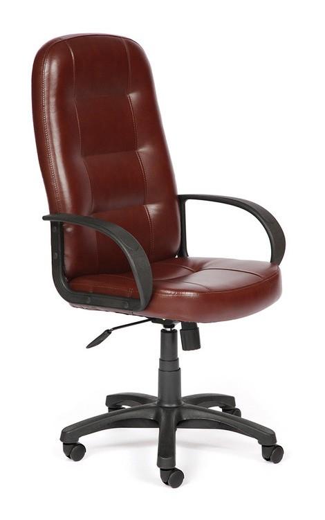 Кресло руководителя Tetchair Devon Иск. кожа коричневая 2 TONE