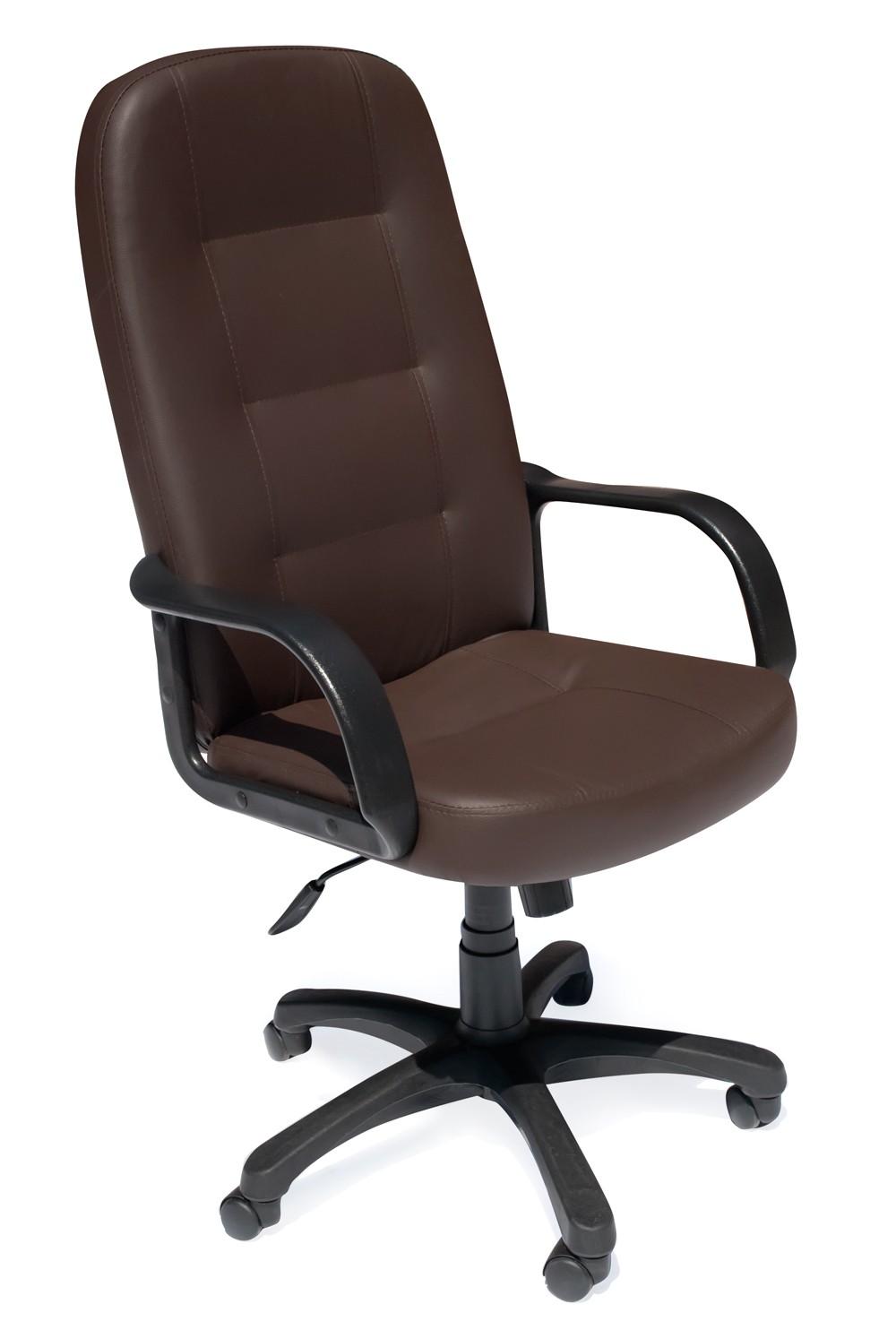 Кресло руководителя Tetchair Devon Иск.кожа коричневая PU 36-36