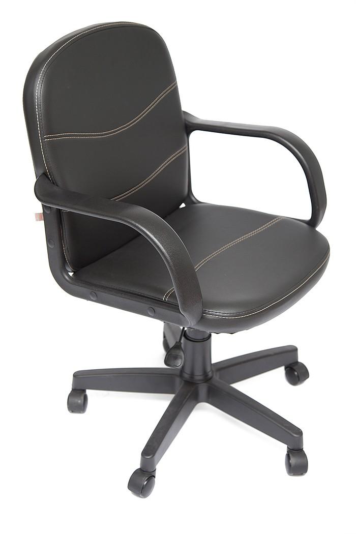 Офисное кресло Tetchair BAGGI Иск. кожа черная