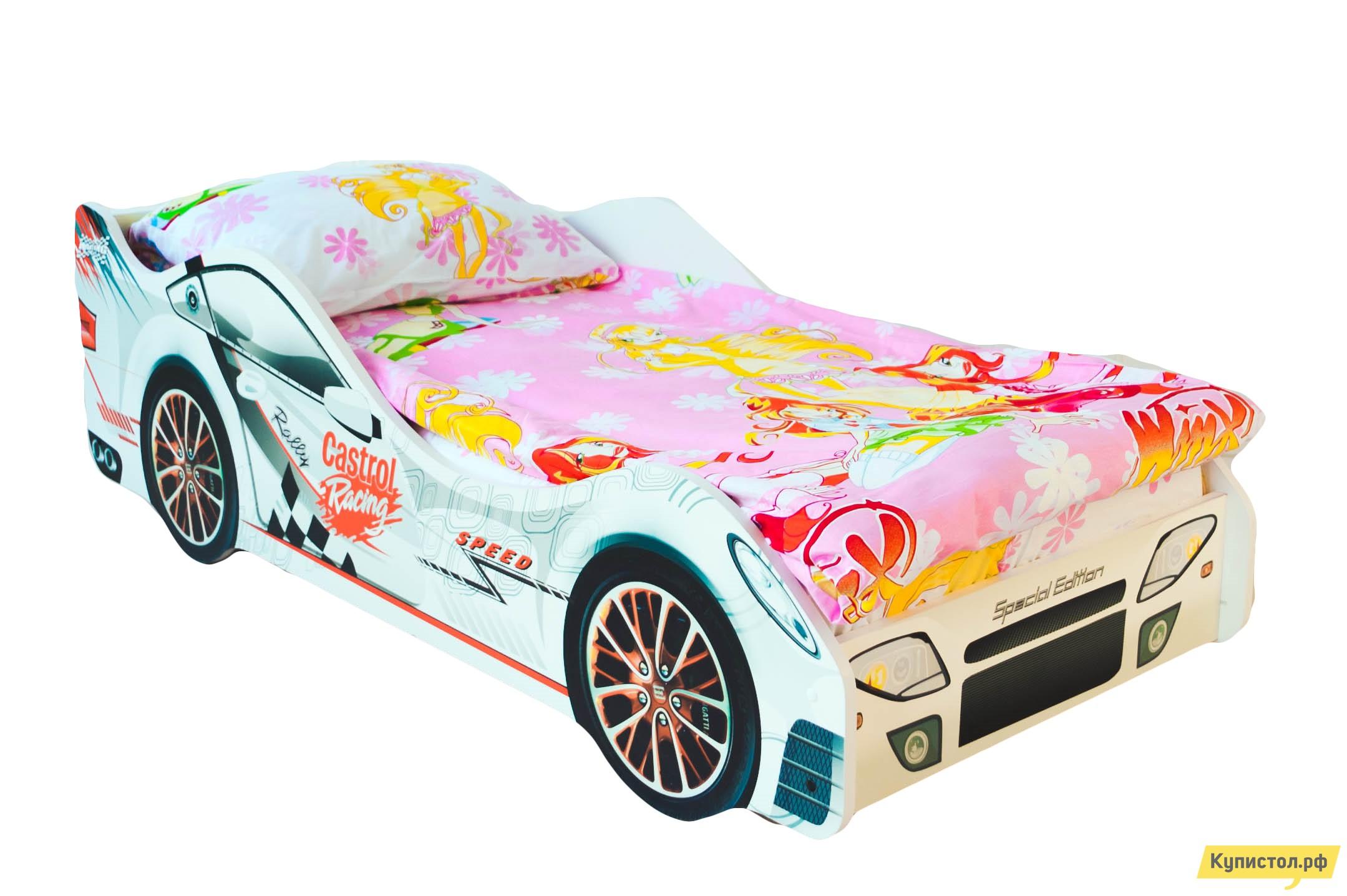 Кровать-машина Бельмарко Безмятежность Белый