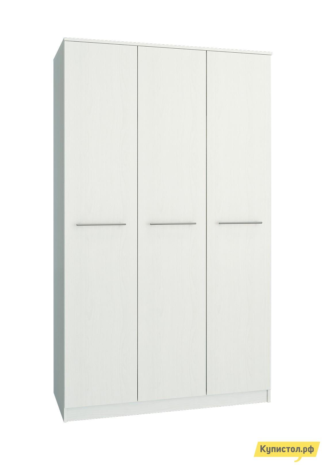 Шкаф распашной МФ Мастер Ланс-3 Белый