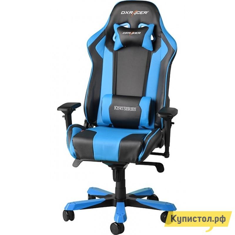 Компьютерное кресло DxRacer OH/KS06 Черный / Голубой