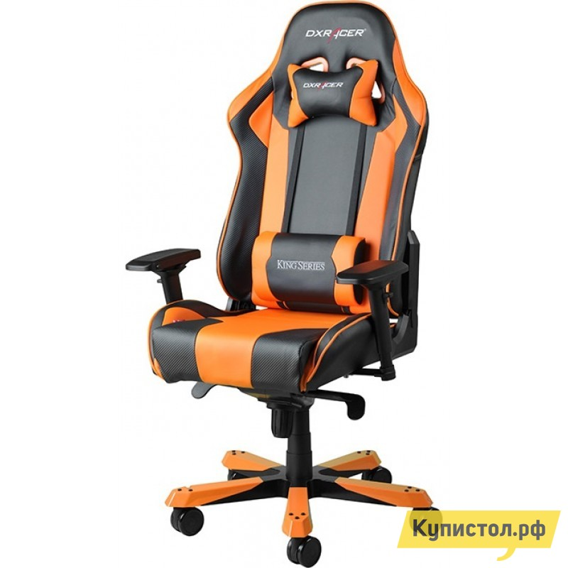 Компьютерное кресло DxRacer OH/KS06 Черный / Оранжевый