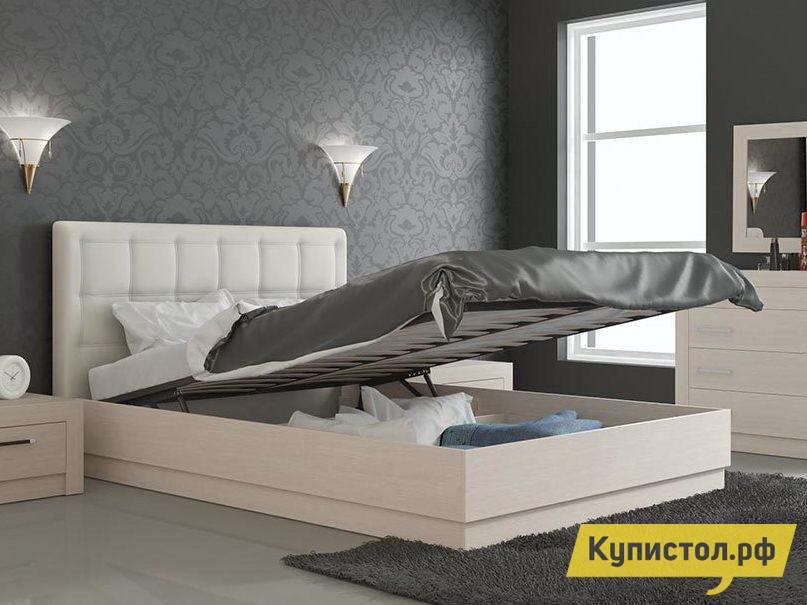 Кровать ТриЯ Токио СМ-131.13.002 Светлый Дуб Белфорт