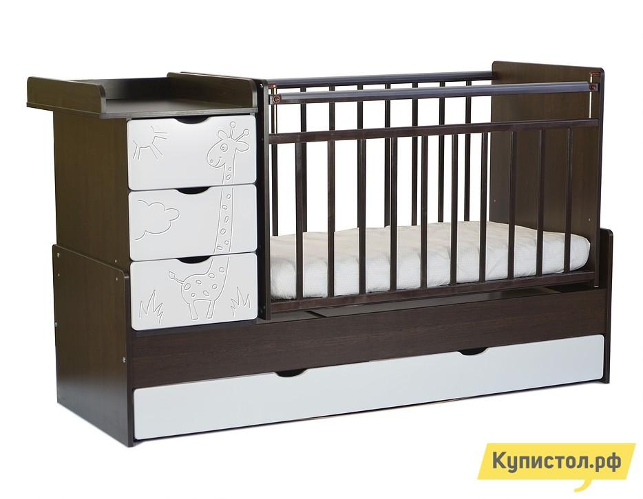 Кроватка SKV company СКВ-5 54003x Венге