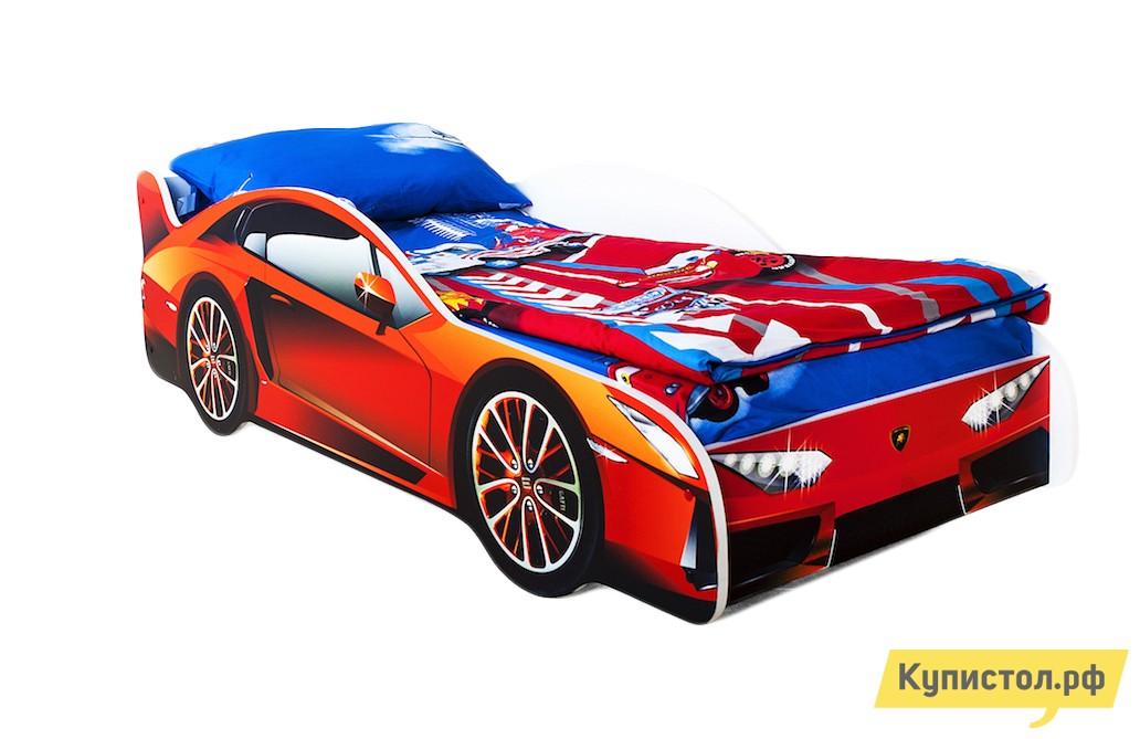 Кровать-машина Бельмарко Ламборджини Оранжевый