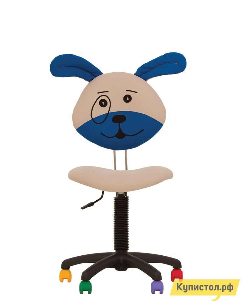 Компьютерное кресло NOWYSTYL DOG GTS PL55 MICROSOLCO Сине-бежевый