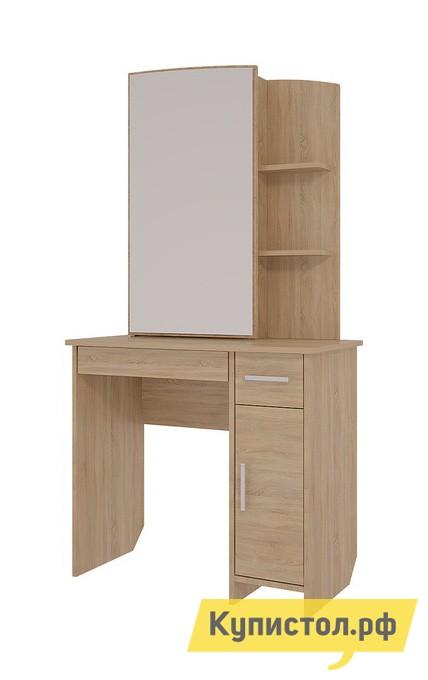 Туалетный столик Мебельсон Виктория-1 Трюмо Дуб Сонома