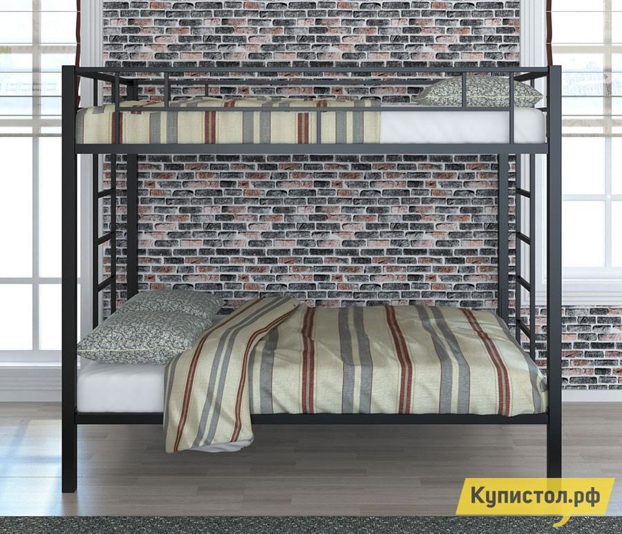 Кровать 4 Сезона Валенсия 120 Твист Черный