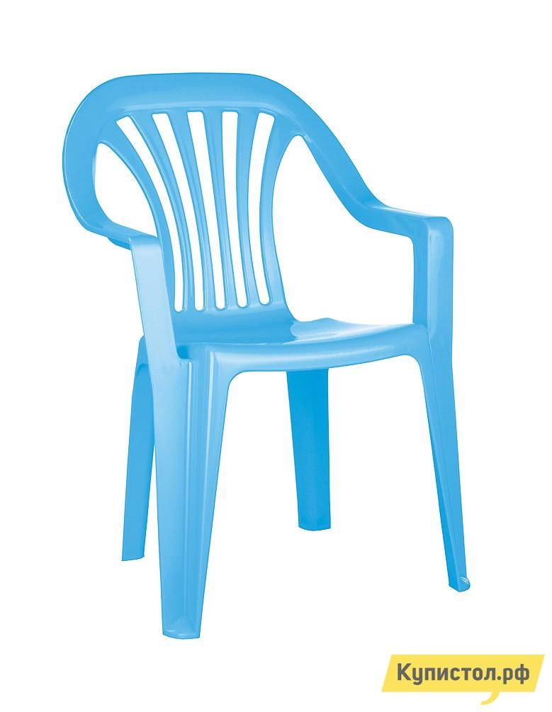 Столик и стульчик Пластишка 4312070 Голубой