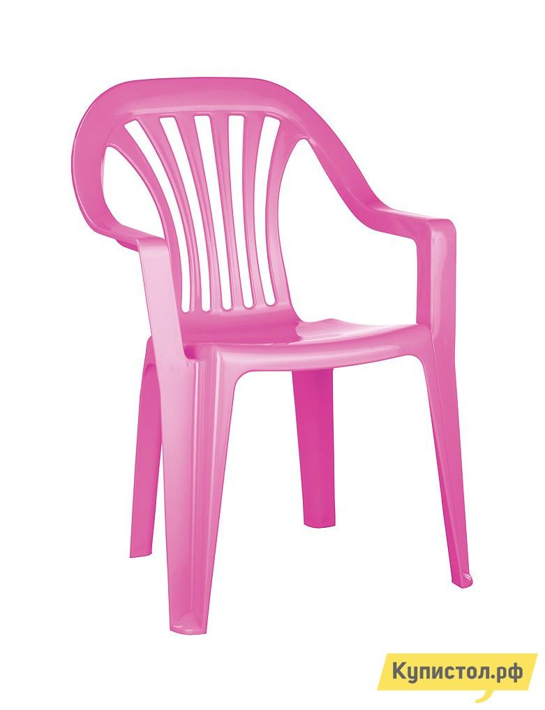 Столик и стульчик Пластишка 4312070 Коралловый