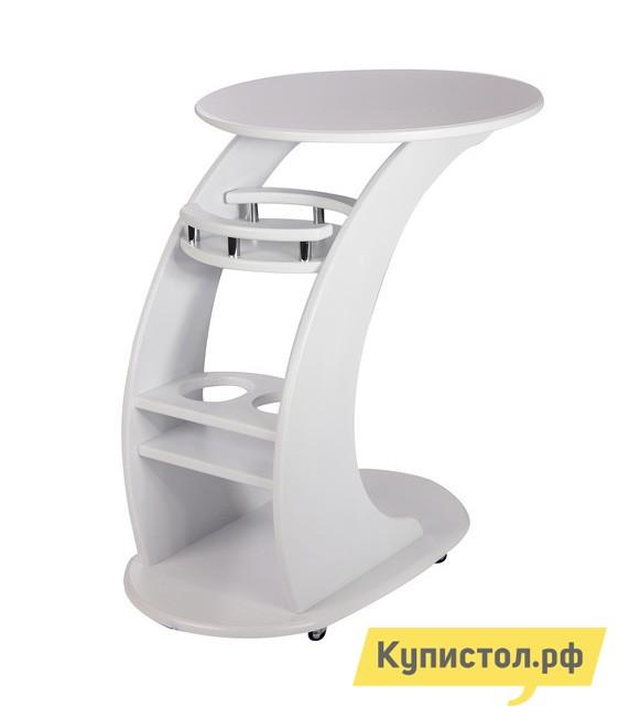 Сервировочный столик Висан Придиванный столик Люкс Молочный дуб