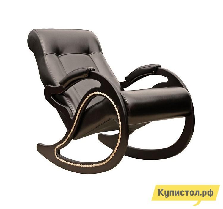 Кресло-качалка Мебель Импэкс Модель 7 (013.007) Орех шпон